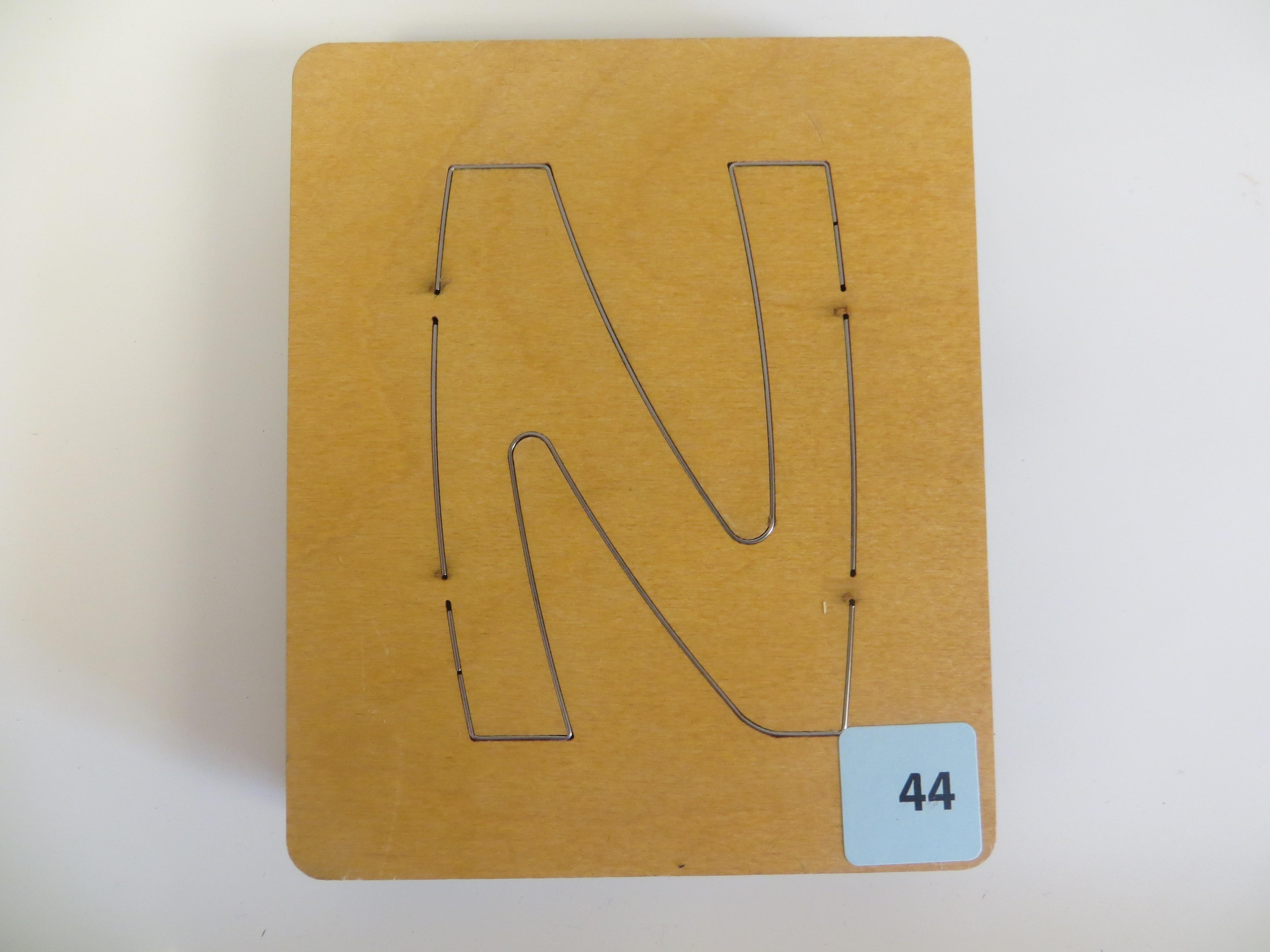 #44 N