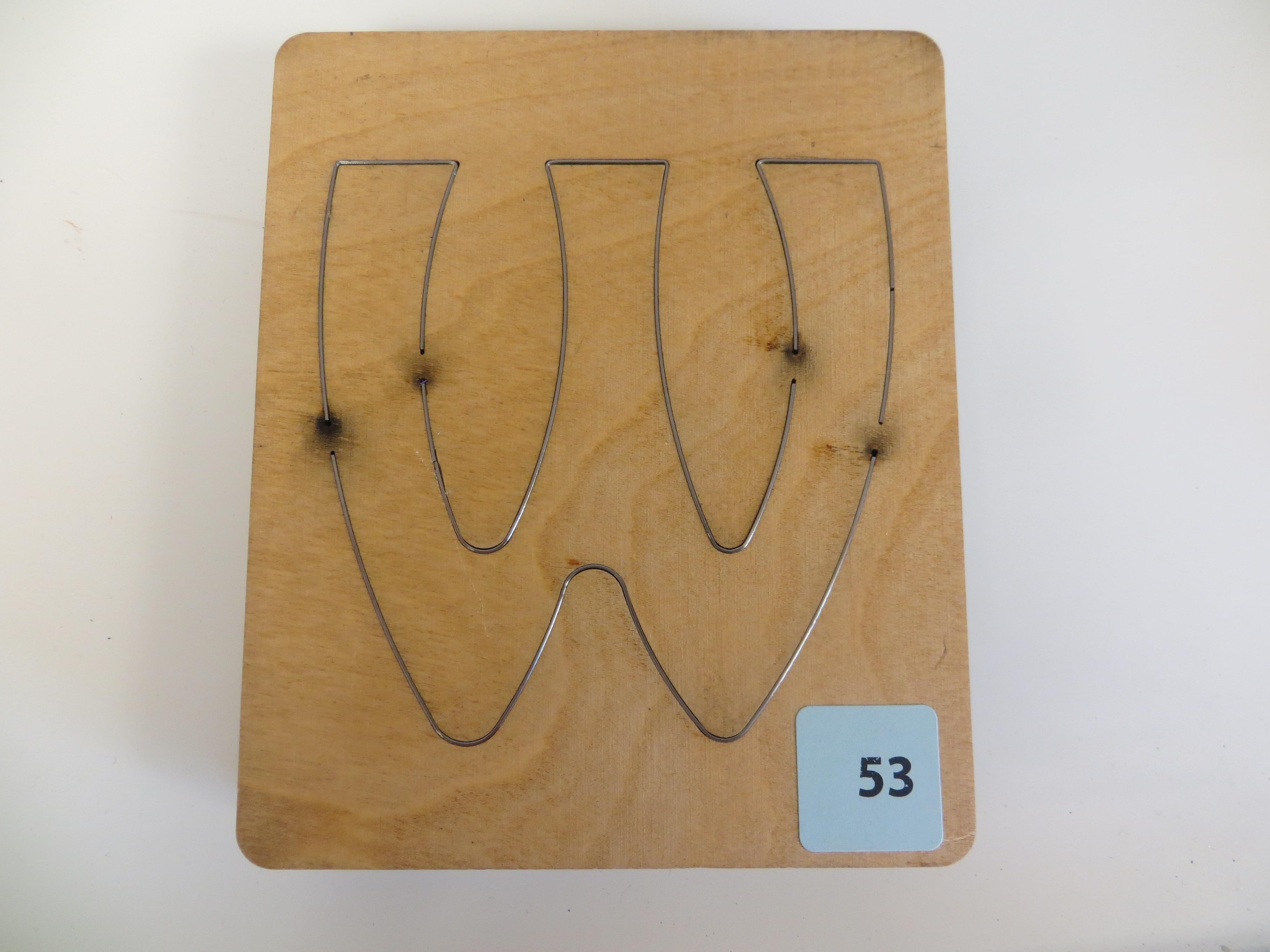 #53 W