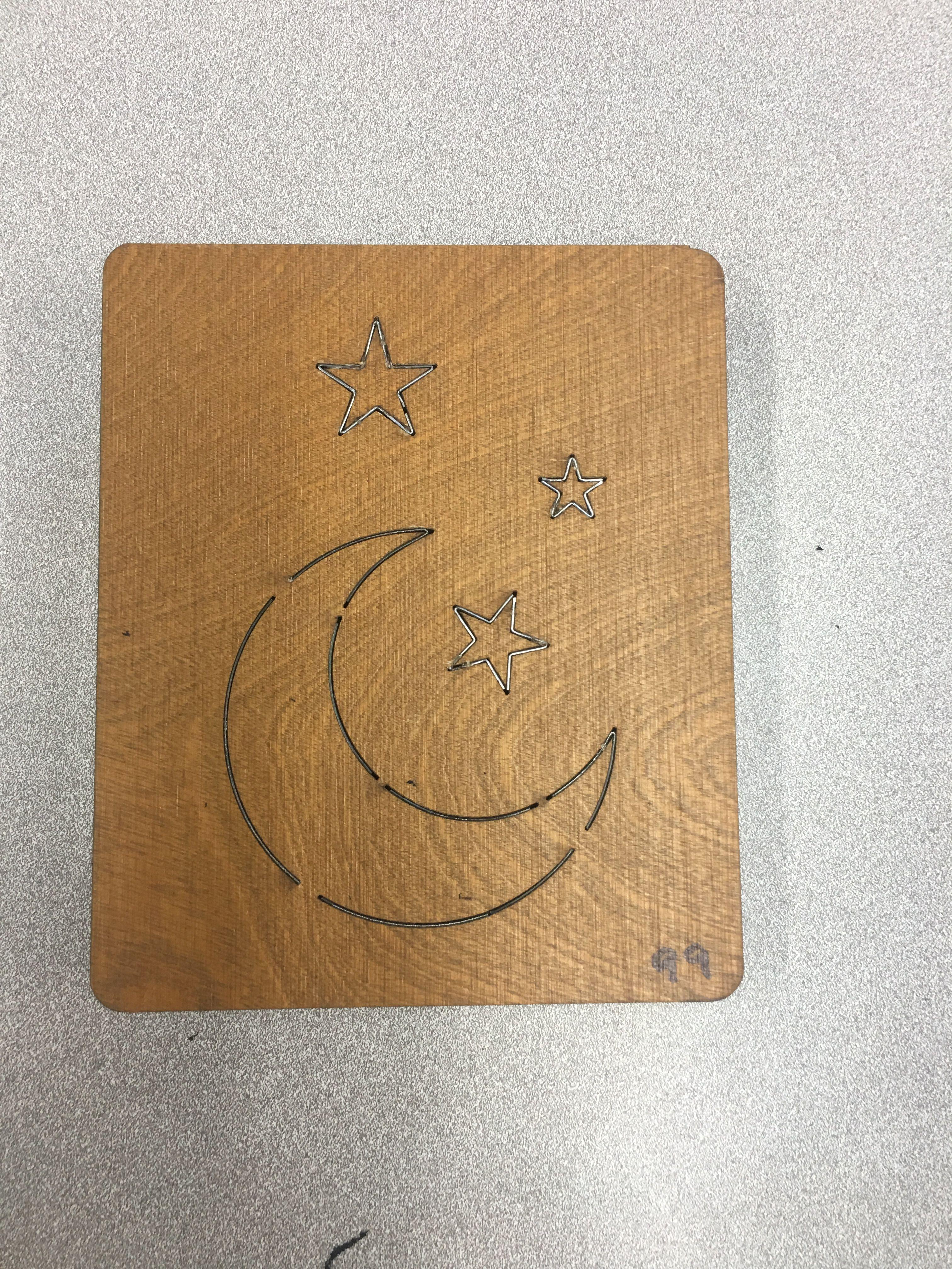 #99 Moon & Stars
