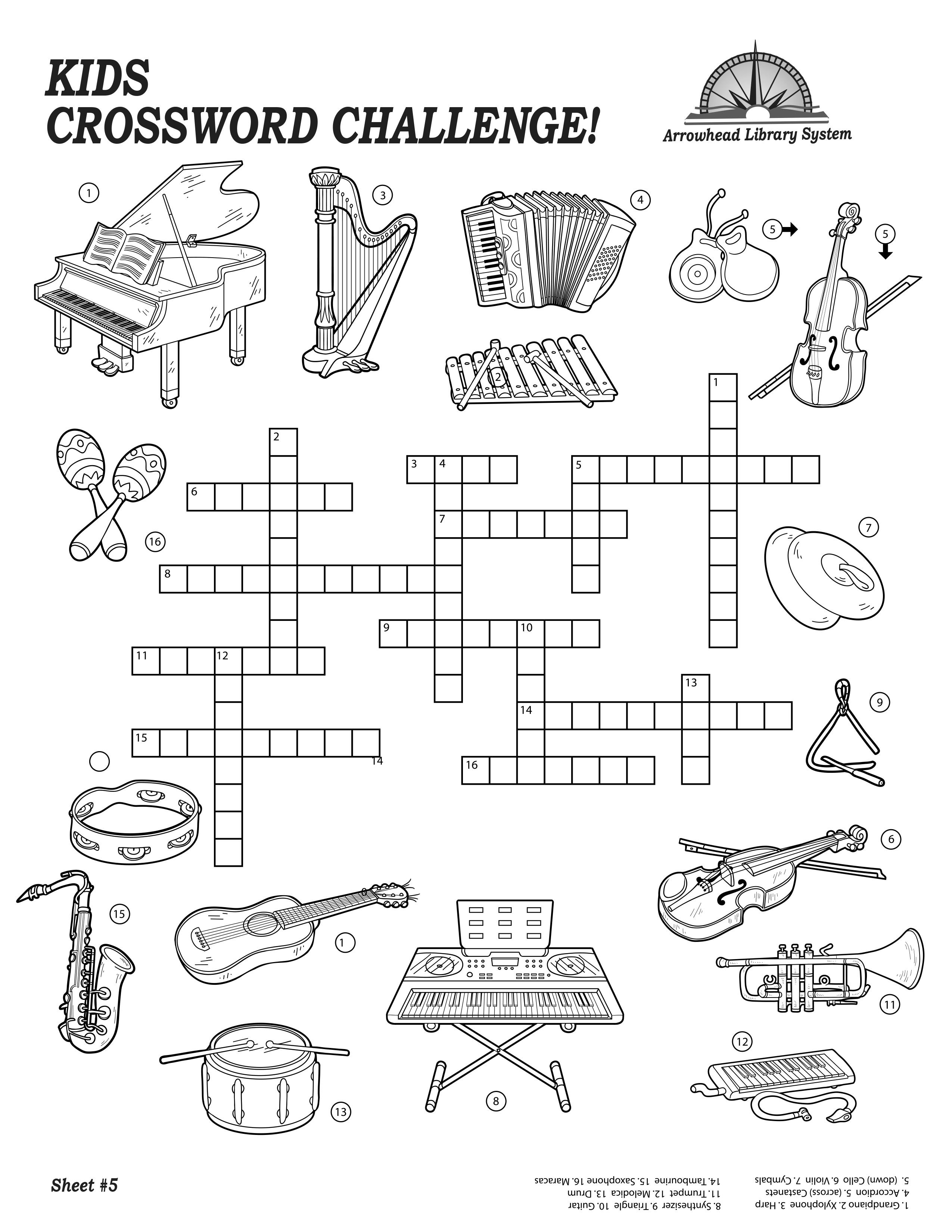 Kids-Crossword-Challenge-1