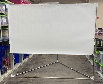 Indoor/Outdoor Projector Screen
